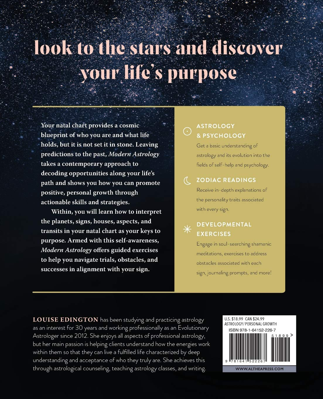 Modern Astrology Harness the Stars to Discover Your Soul's True ...