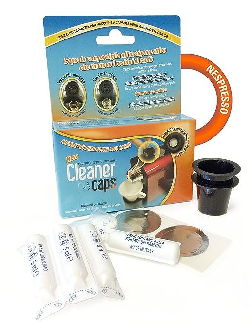 Kit de limpieza completa para máquinas de cápsulas de café ...