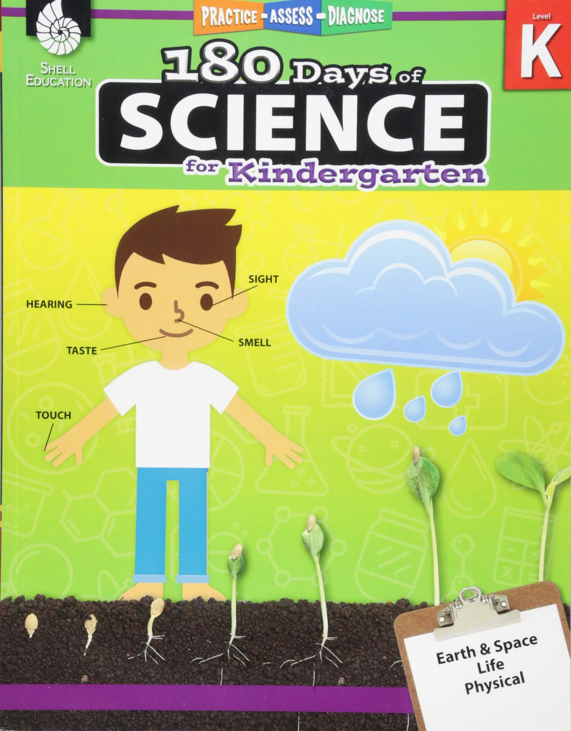 Amazon Com 180 Days Of Science Grade K Daily Science Workbook