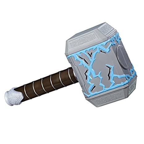 amazon com marvel thor ragnarok thor rumble strike hammer toys