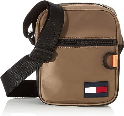 Tommy Hilfiger - Mini Reporter, Shoppers y bolsos de hombro Hombre, Gris (Nomad), 1x1x1 cm (W x H L)