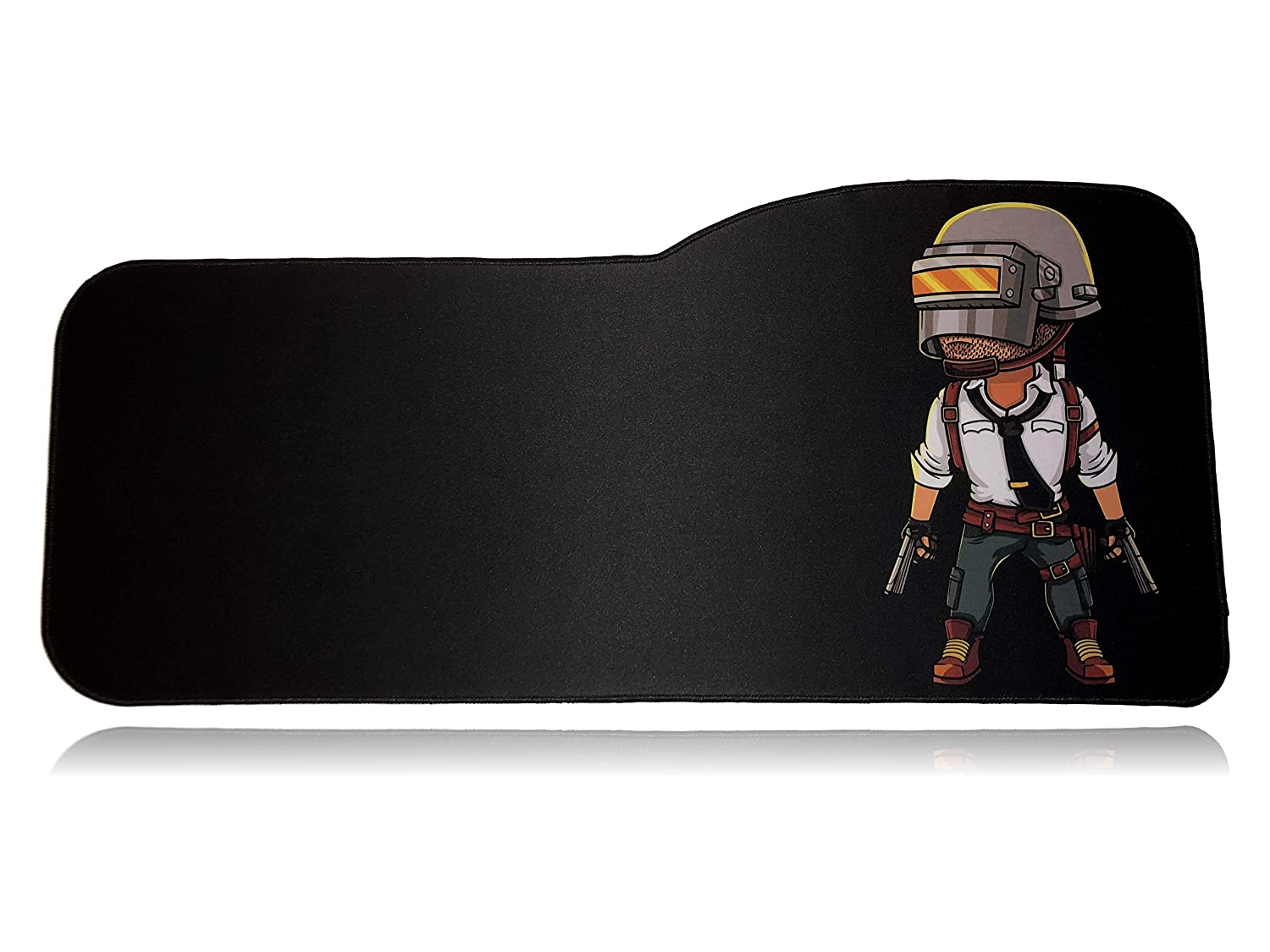 Stitched Edges Anti Slip Rubber 28.5 x 12.75 x 0.12 Extended Size Custom Gaming Mouse Pad Large Desk Mat Morty