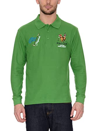 POLO CLUB Captain Horse Academy Polo Sotogrande Verde XL: Amazon ...