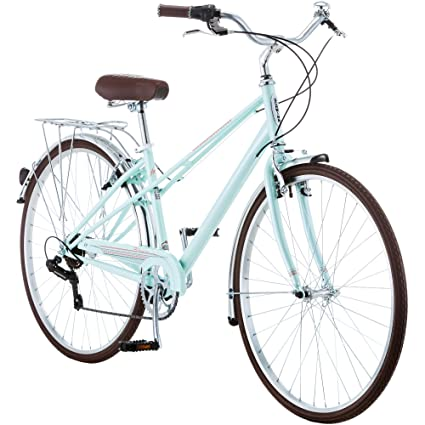 27c196cfe58 Amazon.com : Schwinn 700c Admiral Women39;s Hybrid Bike, Mint Green :  Sports & Outdoors