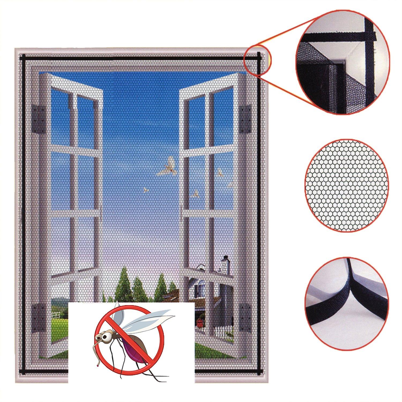 Insektenschutznetz für Fenster, Insektenschutz, weiß, Kit mit ...