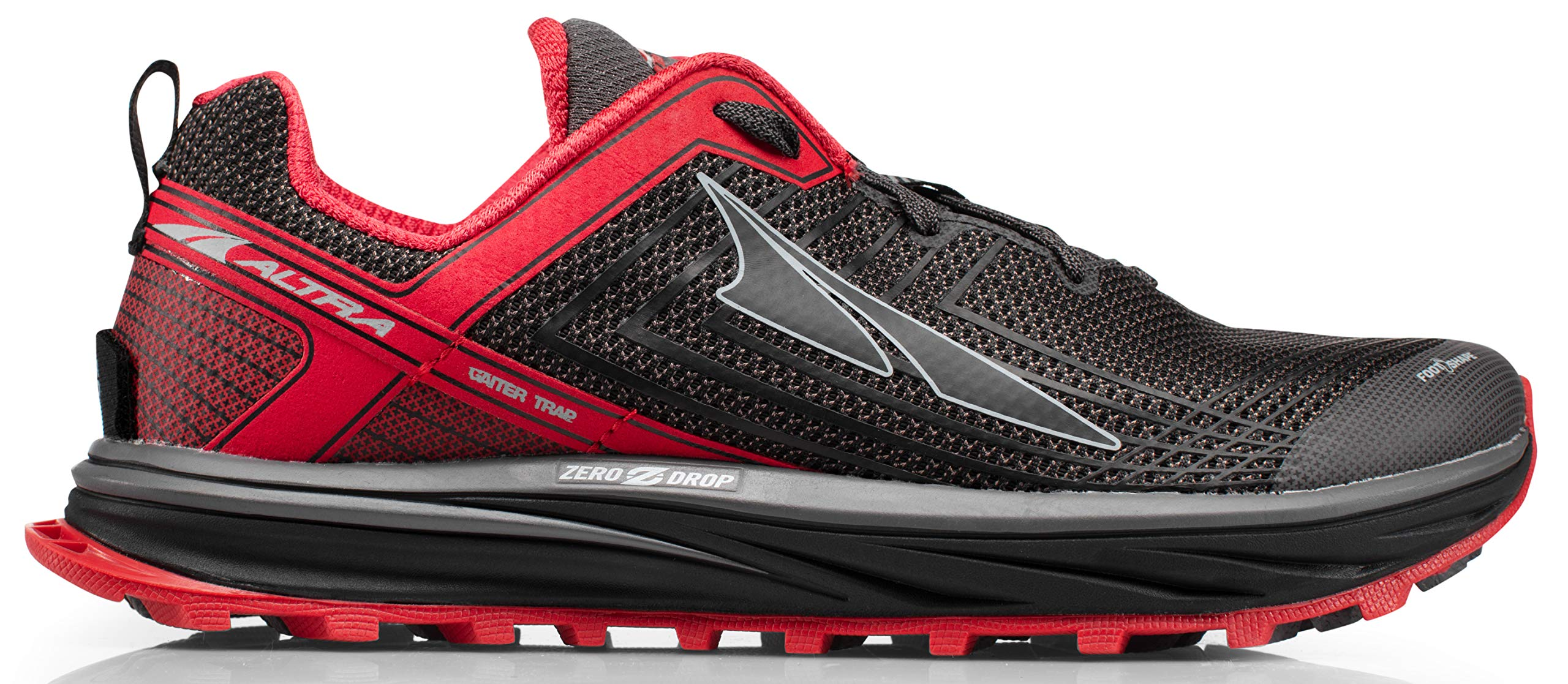 Altra AFM1957F Men's TIMP 1.5 Trail Running Shoe, Red/Gray - 8 D(M) US