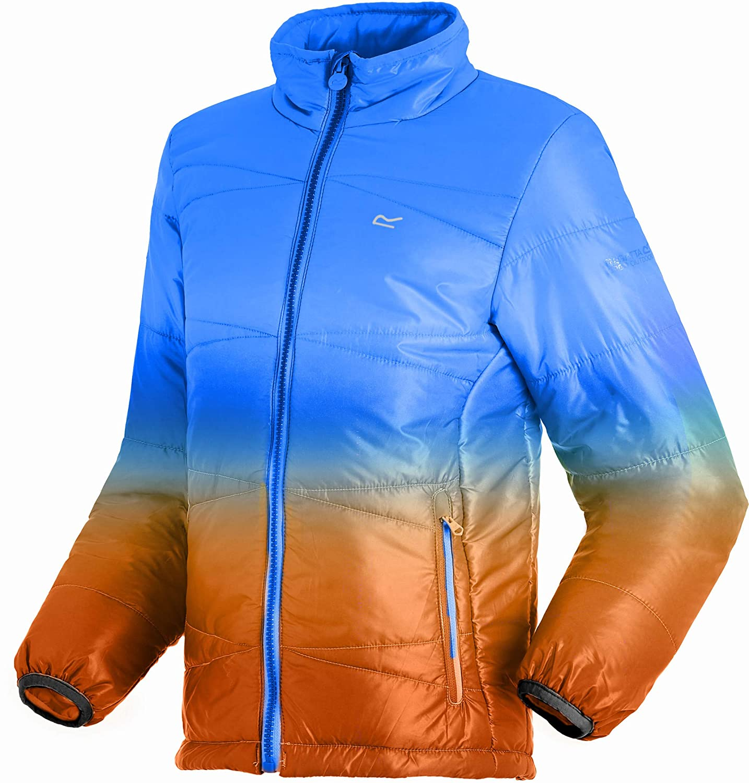 Regatta Icebound IV Lightweight Insulated Water Repellent Chaqueta, Infantil, Oxford Oxford Infantil, Azul, Talla 11-12 4098cf