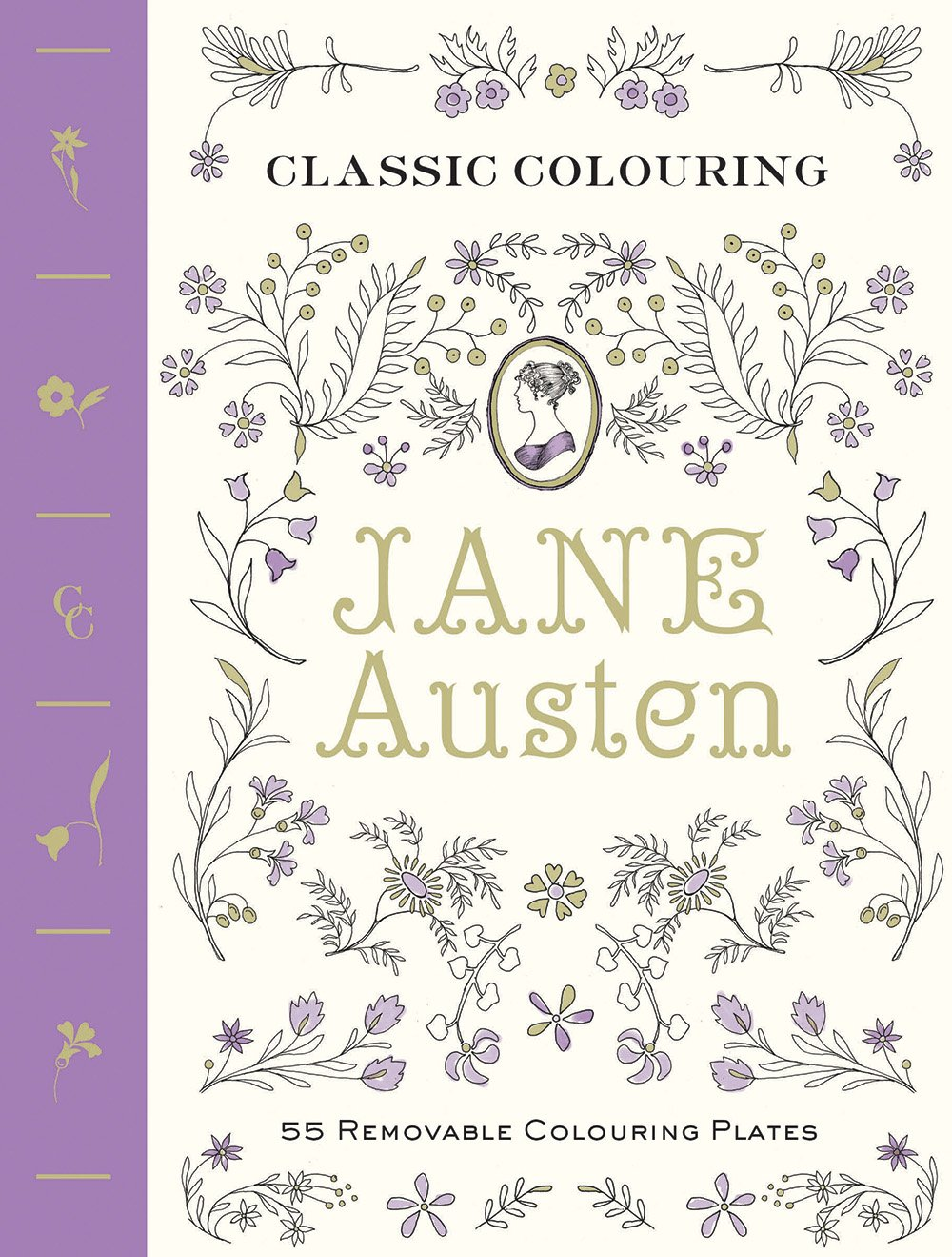 Classic Colouring: Jane Austen (Adult Colouring Book) [UK EDITION]: 55 Removable Colouring Plates pdf