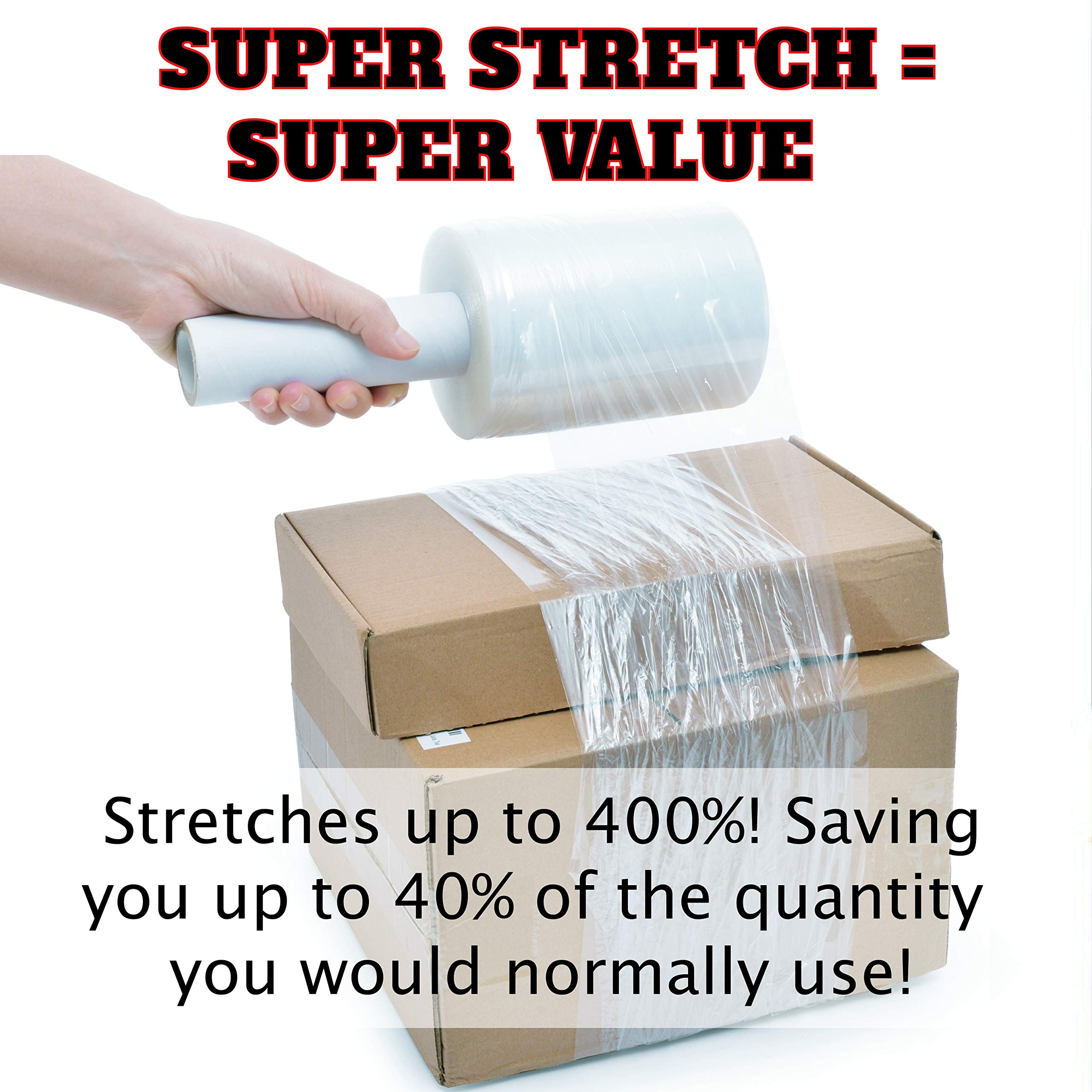"""Ultra Strong Shrink Wrap Rolls with Handle 