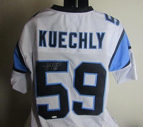 c67383ccc Luke Kuechly autographed Signed Carolina Panthers Jersey JSA COA at ...