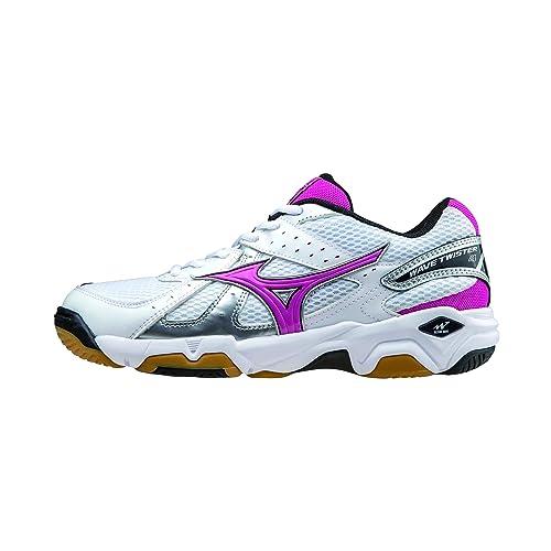 MIZUNO Zapatillas Deportivas Volleyball para Mujer V1GC157063 Wave Twister 4: Amazon.es: Zapatos y complementos