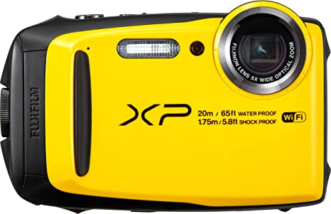 Fujifilm FinePix XP120 - Cámara acuatíca de 16.4 MP (Pantalla de 3 ...