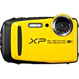 "Fujifilm FinePix XP120 - Cámara acuatíca de 16.4 MP (Pantalla de 3"", estabilizador óptico, Video Full HD, WiFi) Amarilla"