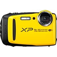 Fujifilm XP120 Cámara Finepix, Zoom Óptico de 5X, Color Amarillo