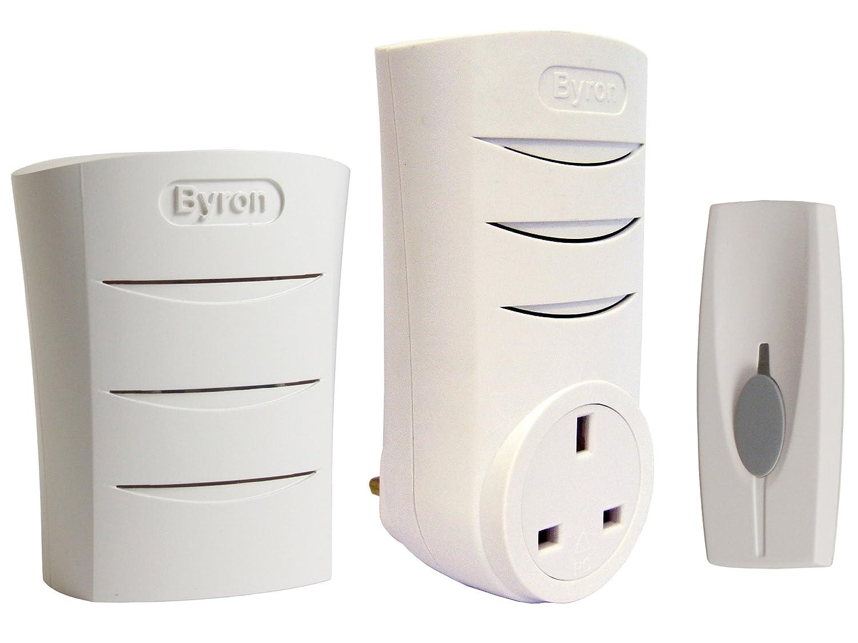 Byron doorbell wireless doorbell shop for doorbell at for 1 by one door chime