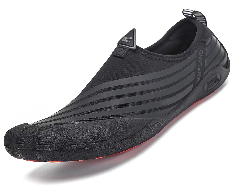 a61ec7fe71 Mens Womens Quick Dry Water Shoes Barefoot Diving Socks for Swim Surf Aqua  Sports Pool Beach Walking Yoga Sneaker  Amazon.co.uk  Shoes   Bags