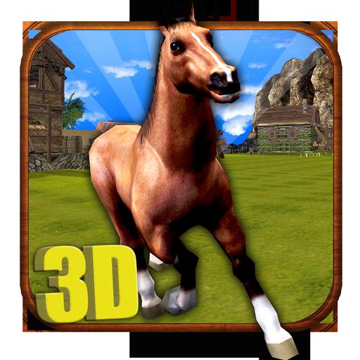 Riding Star - Horse Simulator 3D - Free Horse Running, Jumping & Simulation Game