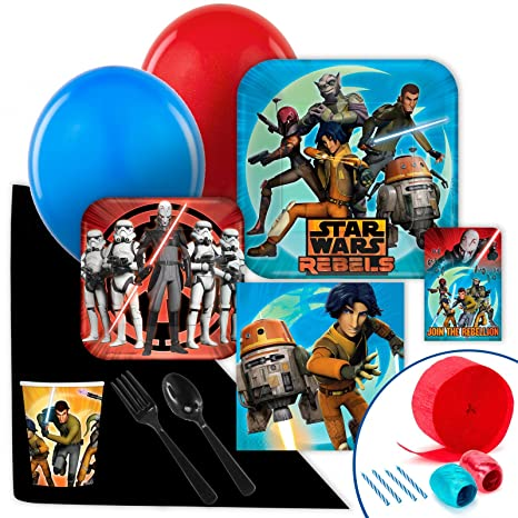 Image Unavailable Not Available For Color Star Wars Rebels Value Party