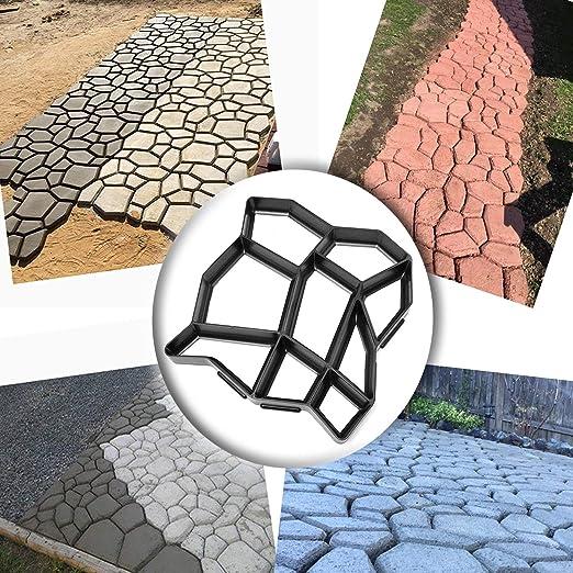 Dragon Honor Molde de Piedra para decoración de Caminos de Piso: Amazon.es: Jardín