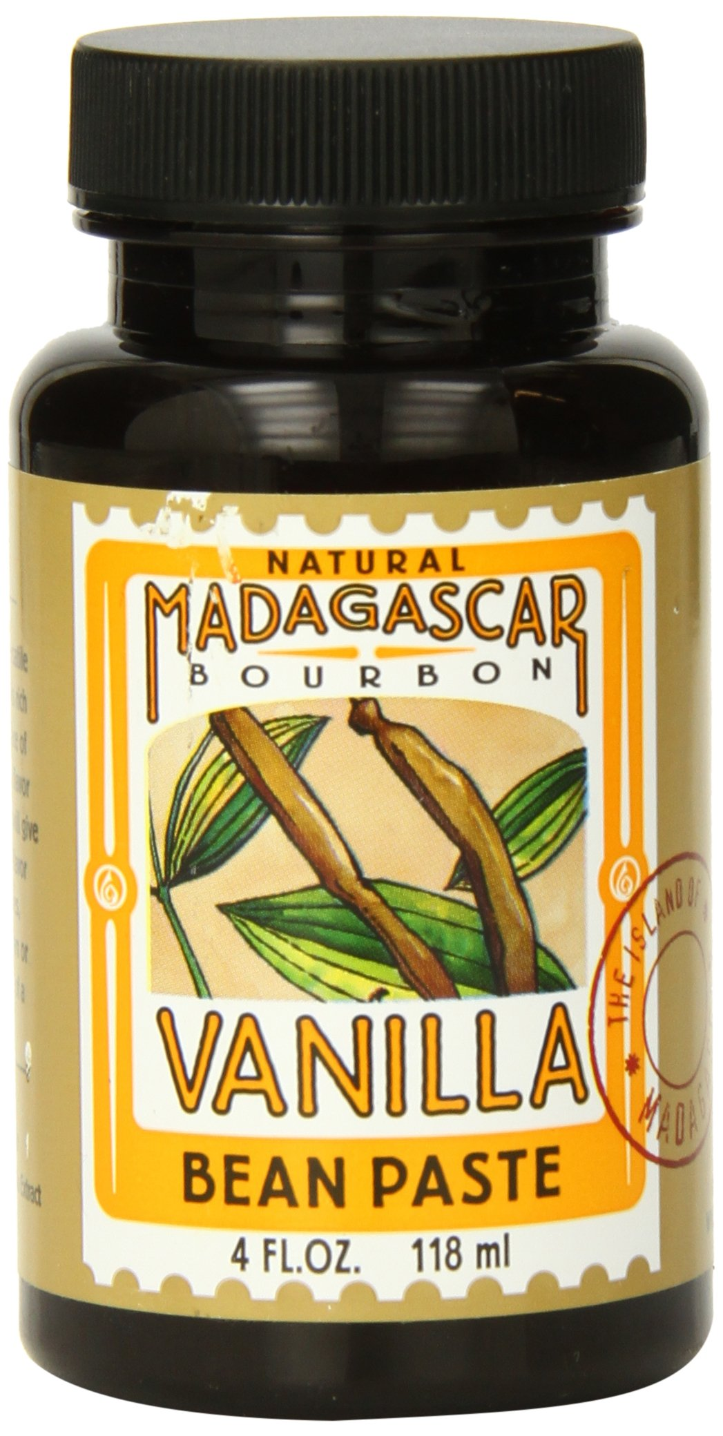 LorAnn Oils Madagascar Vanilla Bean Paste, 4 Ounce by LorAnn