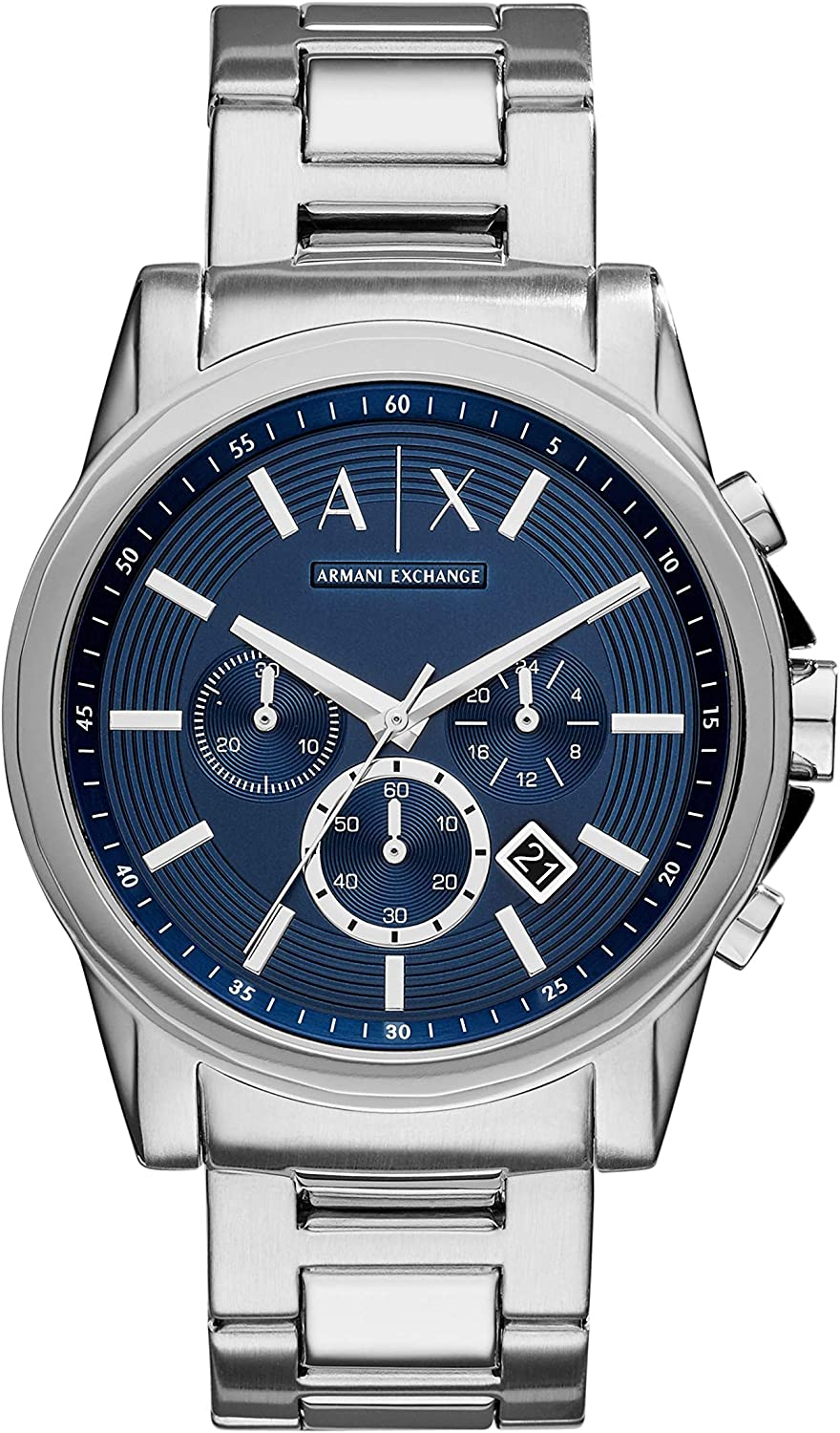 A:x Men's Stainless Steel Watch AX2509