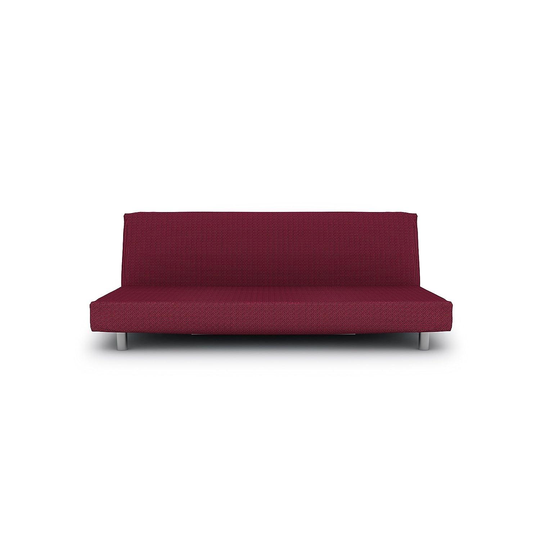 Eiffel Textile Nimes Click-Clack Designer Sofa cover 160 x 195 x 2 cm Black Brands Products FS0243