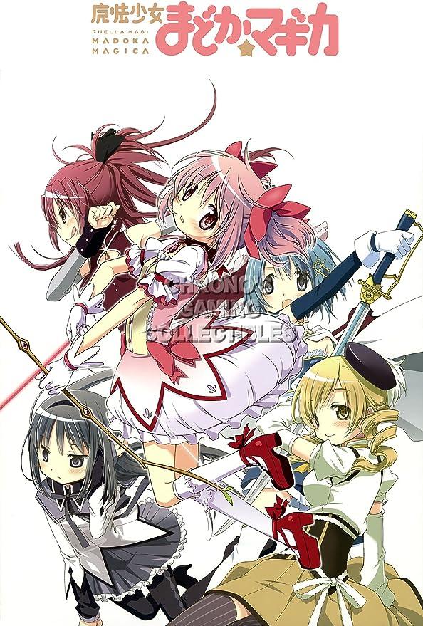 Puella Magi Madoka Magica HD Print Anime Wall Poster Scroll Room Decor