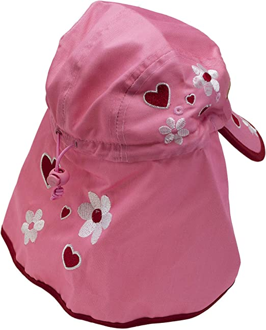 Bugzz Princess Legionnaires Sun Hat One Size fits 3-6 years
