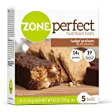 ZonePerfect Nutrition Snack Bars, Fudge Graham, 1.76 oz, (30 Count)