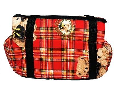 Portador del Perro Capazos Bolsa de Transporte para Mascotas Perros Gatos Animal Transportín Plegable, Aprobado