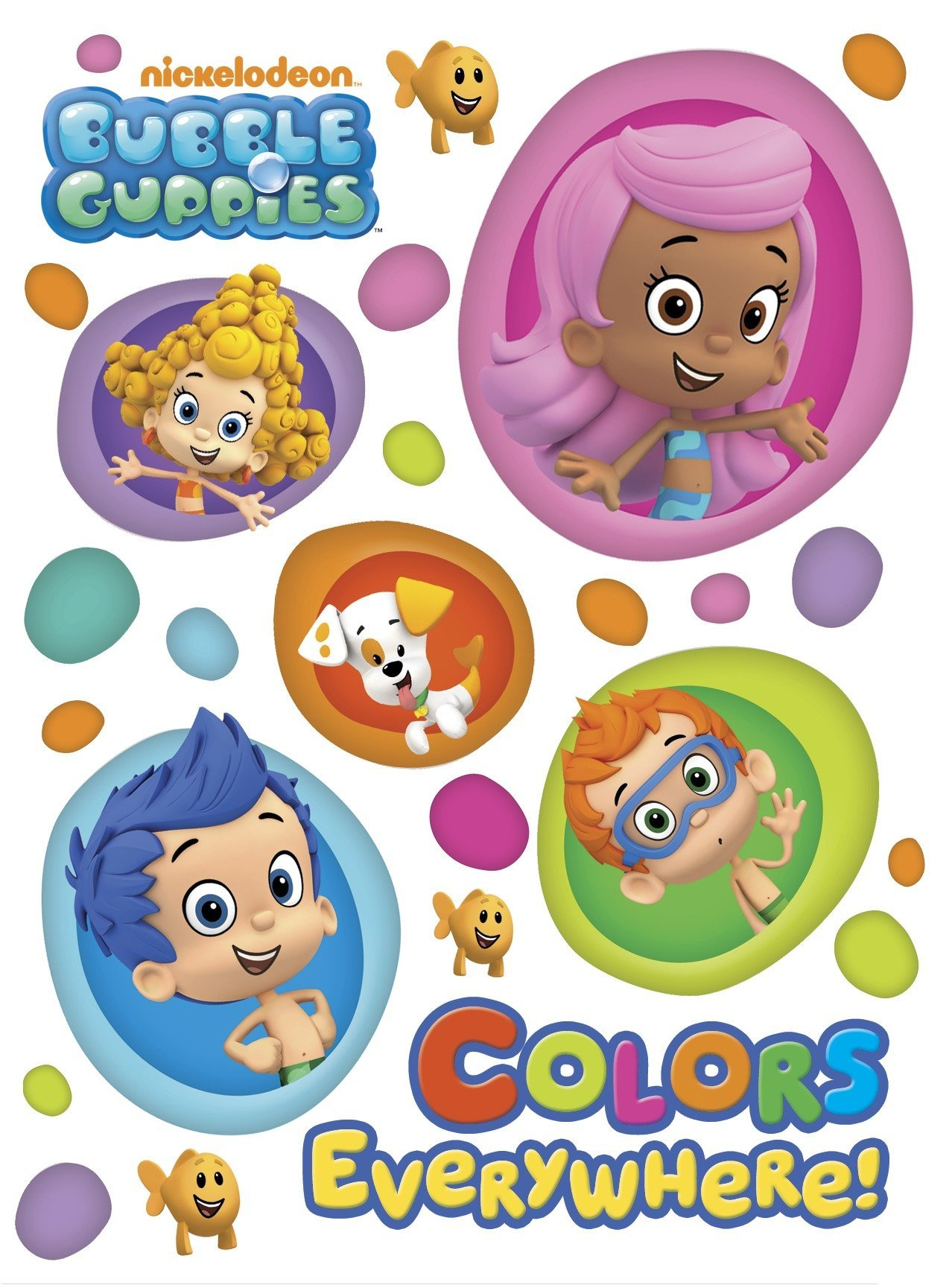 Colors Everywhere! (Bubble Guppies) (Board Book)