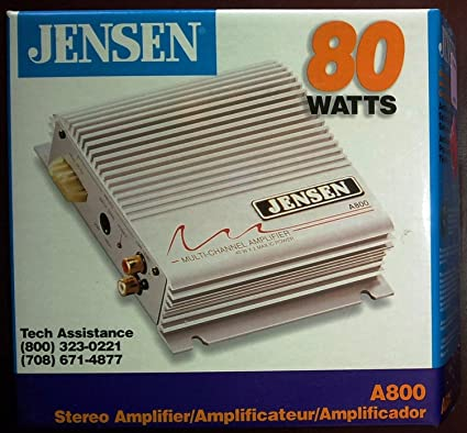 JENSEN Stereo Amplifier - for Cars, Boats, RVs