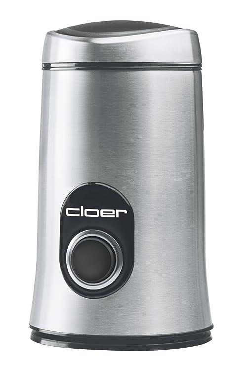 Cloer 7579 Molinillo de café - Acero inoxidable, 230 V, 150 W, 105 mm, 105 mm, 180 mm