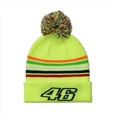 d22b01dd26b Valentino Rossi VR46 Kids 46 The Doctor Beanie 2018  Amazon.co.uk  Clothing