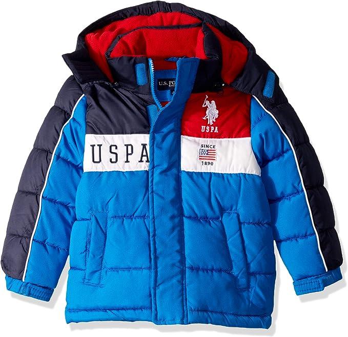 Polo Assn Boys Reversible Bubble Jacket US Polo Association O/_UC91H U.S