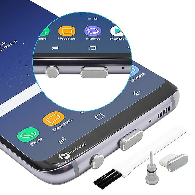PortPlugs - Juego de enchufes USB C de Aluminio para el ...