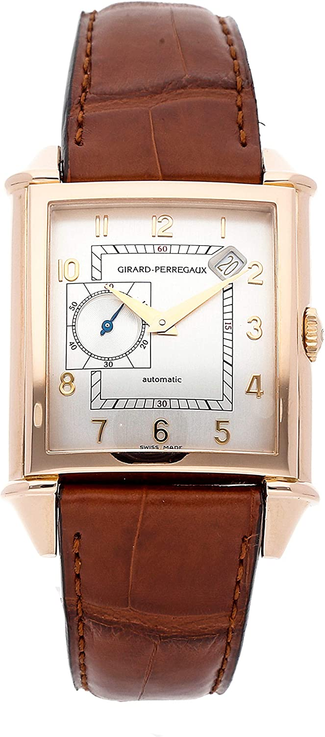 Girard-Perregaux Vintage 1945 Mechanical (Automatic) Silver Dial Mens Watch 25835-52-111-BACA (Certified Pre-Owned)