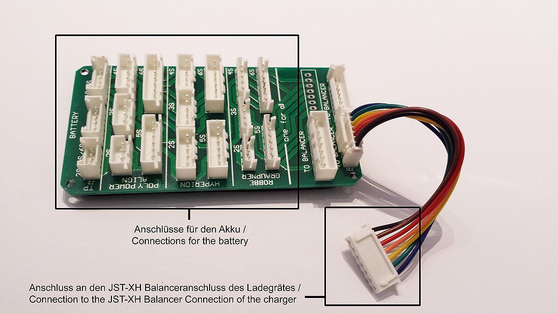 Multi Balancer Board XH XHP EH EHR TP HP PQ Lipo Akku Adapter Board 2-6S