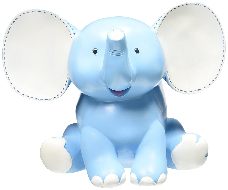 Amazon.com : Buddy The Elephant Blue Planter Adorable Baby Nursery ...