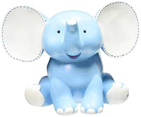 fc208f83eab Amazon.com   Buddy The Elephant Blue Planter Adorable Baby Nursery ...