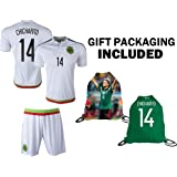22e7d85ca59 Fan Kitbag Chicharito #14 Mexico Youth Home/Away Soccer Jersey & Shorts  Kids Premium