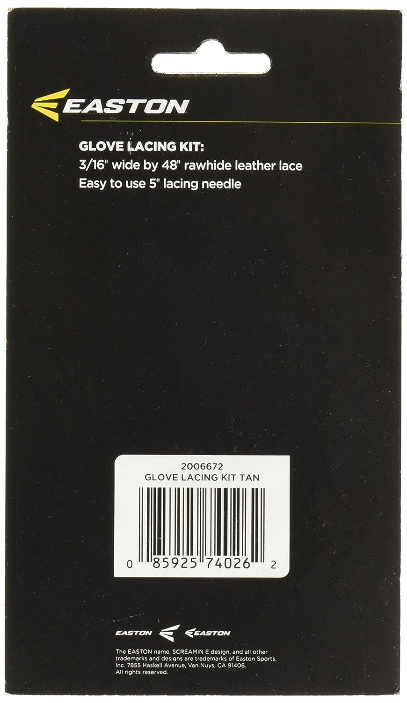 Negro Easton Guantes Kit de Cordones A162627BK