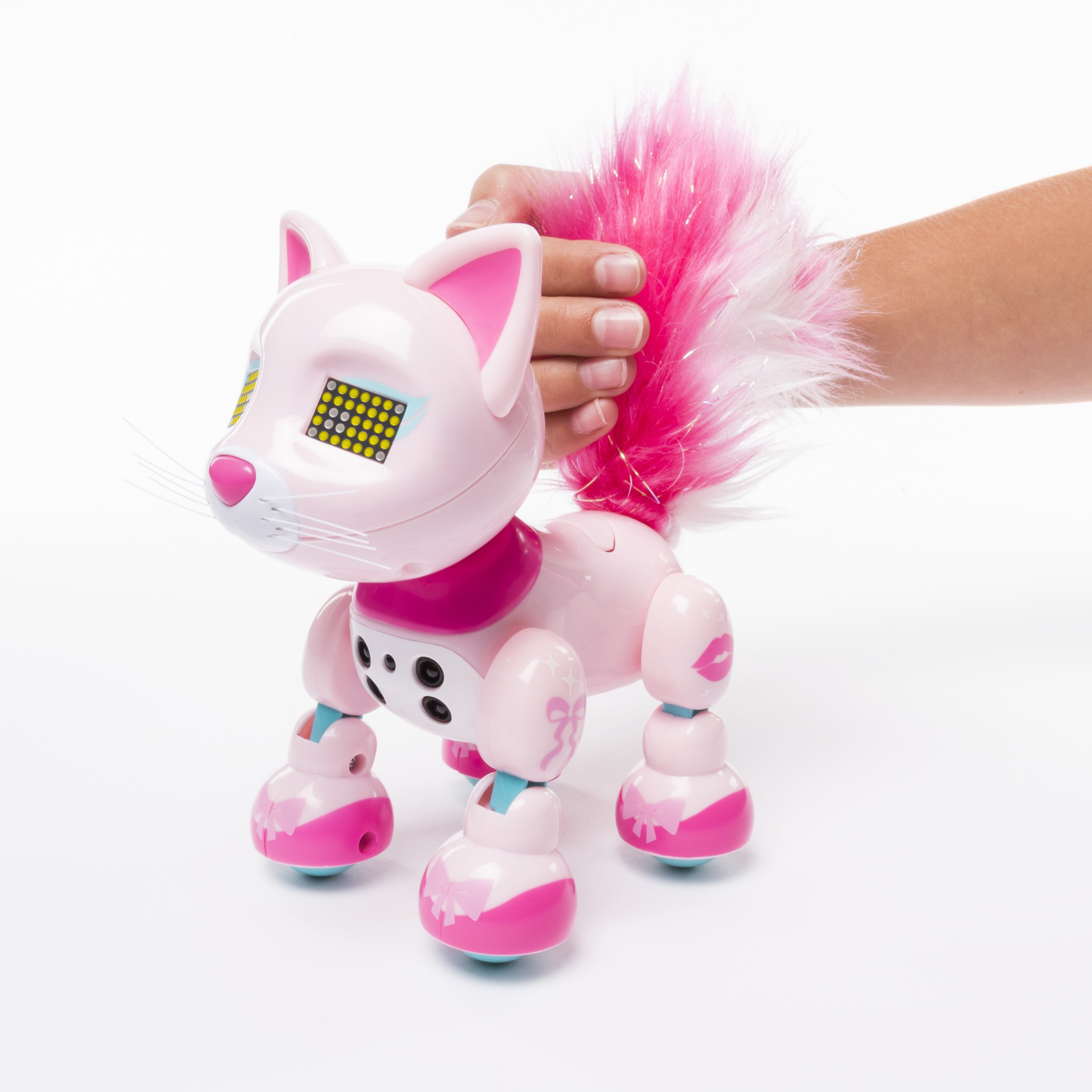 Zoomer Meowzies, Chic, Interactive Kitten with Lights, Sounds and Sensors by Zoomer (Image #4)