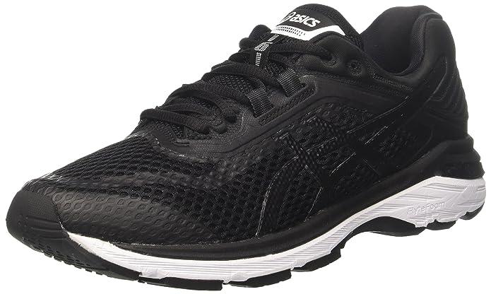 Asics GT-2000 6, Zapatillas de Entrenamiento para Hombre, Negro (Black/White/Carbon 9001), 44.5 EU