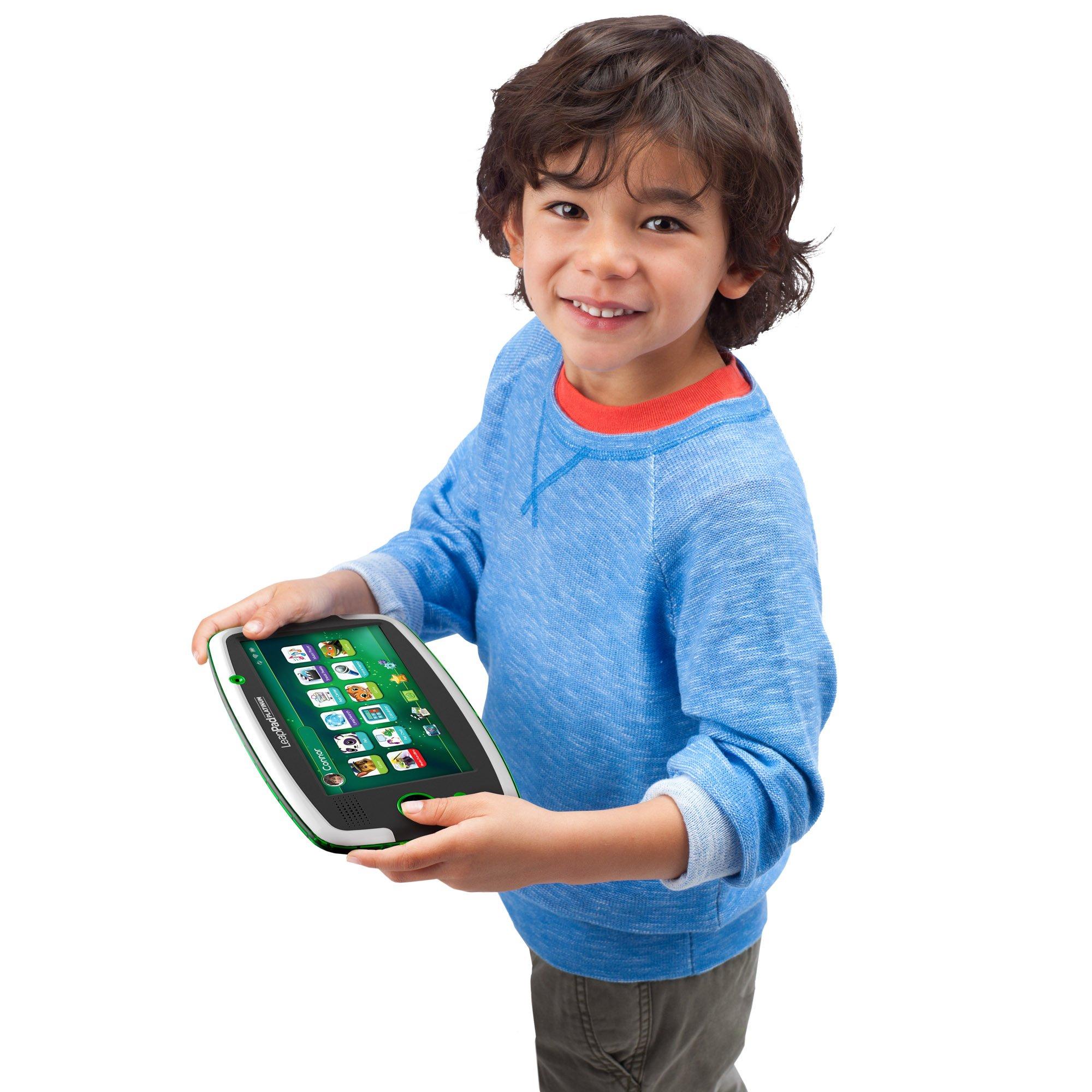 LeapFrog LeapPad Platinum Kids Learning Tablet, Green by LeapFrog. (Image #20)