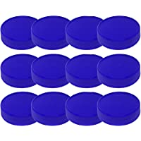 Tapas de plástico para tarros Mason (sin BPA) de boca regular, juego de 12 tapas reutilizables a prueba de fugas…