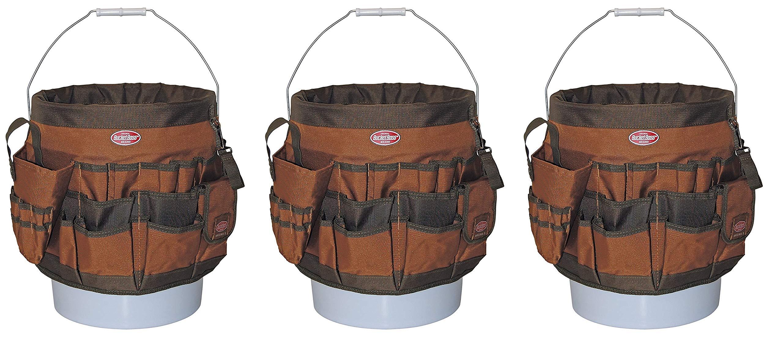 Bucket Boss 10056 Bucket Tool Organizer with 56 Pocket (Pack of 3)