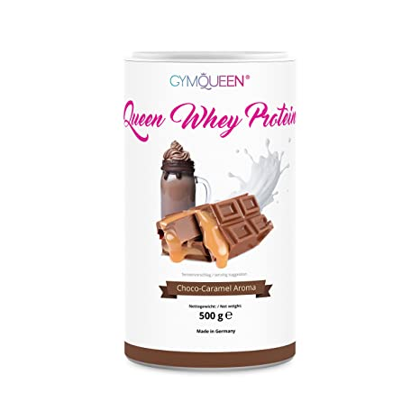 GymQueen Proteína de Whey – Proteína de suero de leche concentrada e aislada, Chocolate y
