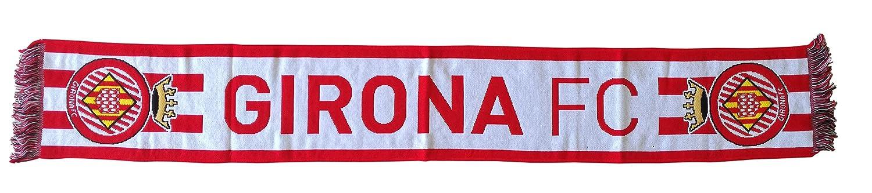Girona FC Bufgir Bufanda Telar, Rojo/Blanco, Talla Única: Amazon.es: Deportes y aire libre