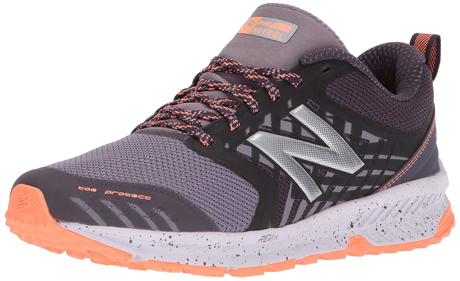 New Balance Women's Nitrel v1 FuelCore Trail Running Shoe B01N6KK6D3 6 D US|Elderberry